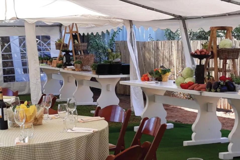אוהל למסיבה